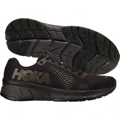 Hoka One One - Cavu Fly At Night, Damen - schwarz