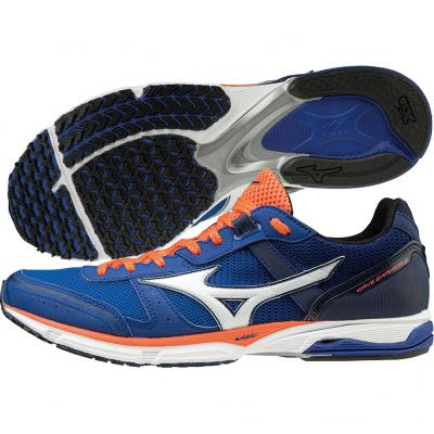 Mizuno - Wave Emperor 3, Herren - blau/orange