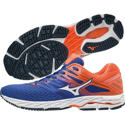 Mizuno - Wave Shadow 2, Herren - orange/blau