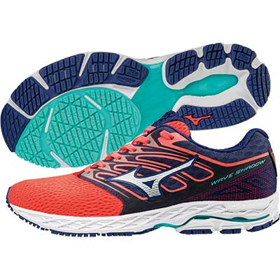 Mizuno - Wave Shadow, Damen - coral