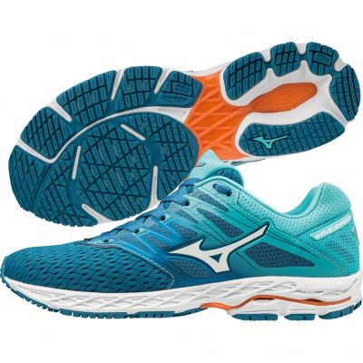 Mizuno - Wave Shadow 2, Damen - türkis/blau