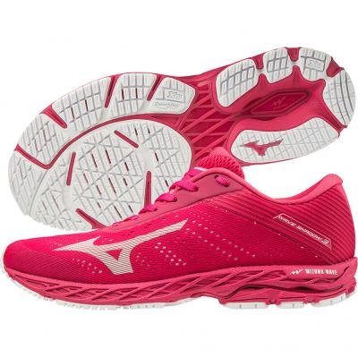 Mizuno - Wave Shadow 3, Damen - rosa/weiß