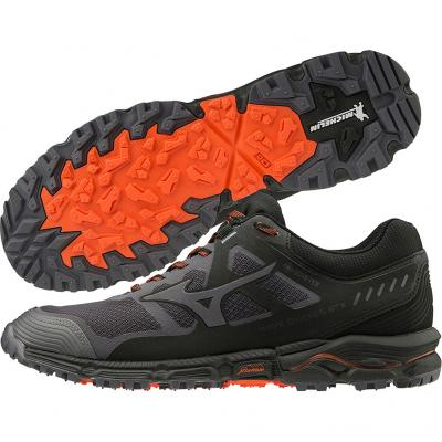 Mizuno - Wave Daichi 5 GTX, Herren - grau/orange