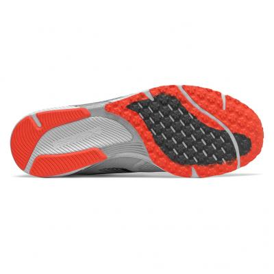 Sohle vom New Balance Hanzo R V3 Herren in grau/weiss/orange