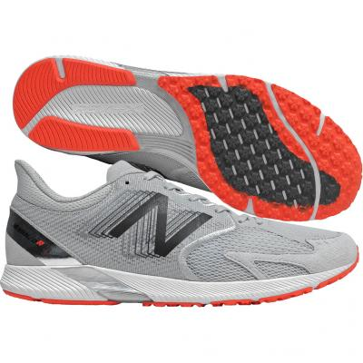 New Balance - Hanzo R V3, Herren - grau/weiß/orange