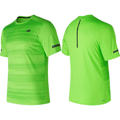 New Balance - Max Intensity Short Sleeve, Herren