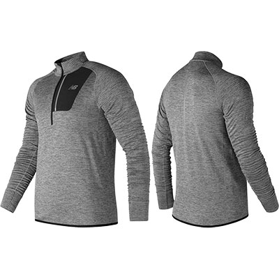 New Balance - Heat Half Zip, Herren