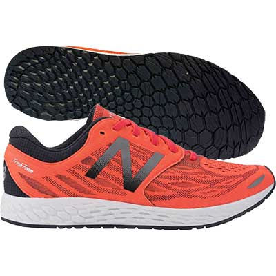New Balance - Fresh Foam Zante V3, Herren - orange/schwarz