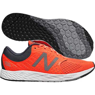 New Balance - Fresh Foam Zante V4, Herren - orange/grau