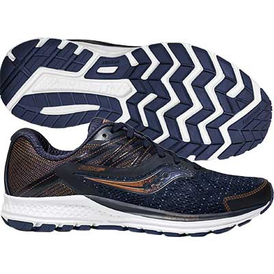 Saucony - Ride 10, Damen - navy