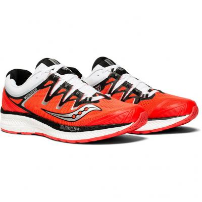 Paar Saucony Triumph ISO 4 Damen in rot/weiss