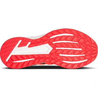 Sohle Saucony Triumph ISO 4 Damen in rot/weiss