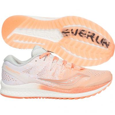 Saucony - Freedom ISO 2, Damen - weiß/orange