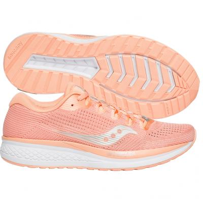 Saucony - Jazz 21, Damen - peach/weiss