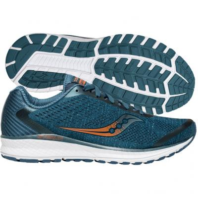 Saucony - Breakthru 4, Herren - teal/denim
