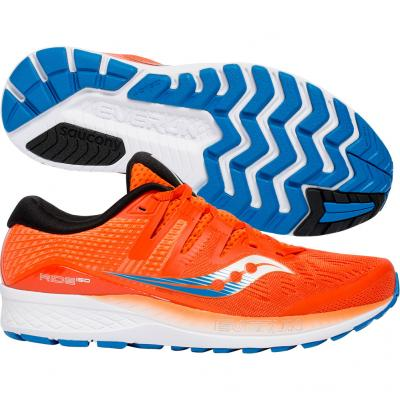 Saucony - Ride Iso, Herren - orange/blau