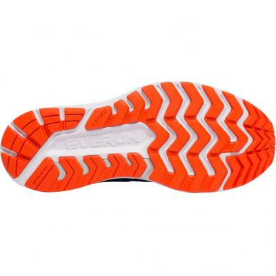 Sohle vom Saucony Guide Iso 2 Herren in blau/orange