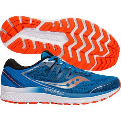 Saucony - Guide ISO 2, Herren - blau/orange