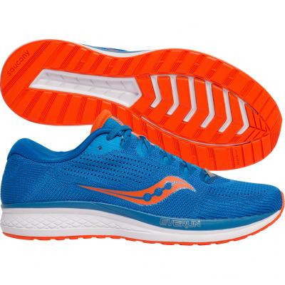 Saucony - Jazz 21, Herren - blau/orange