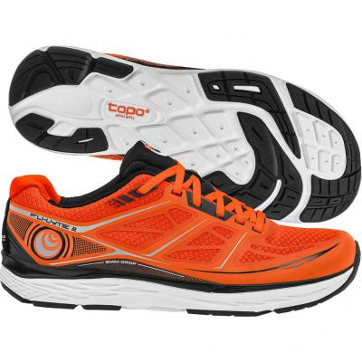 Topo Athletic - Fli-Lyte 2, Herren - orange/schwarz