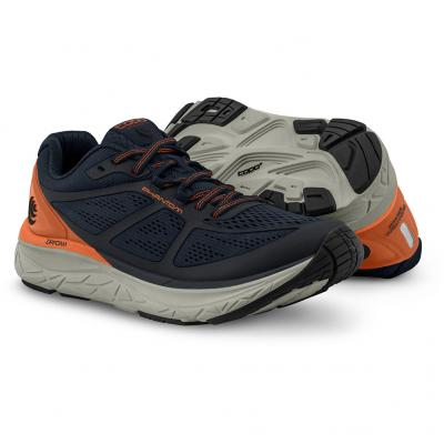 Paar vom TOPO athletic Phantom Herren in navy/orange