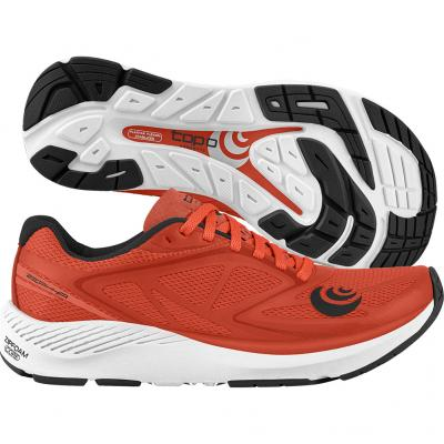 Topo Athletic - Zephyr, Herren - orange/weiß