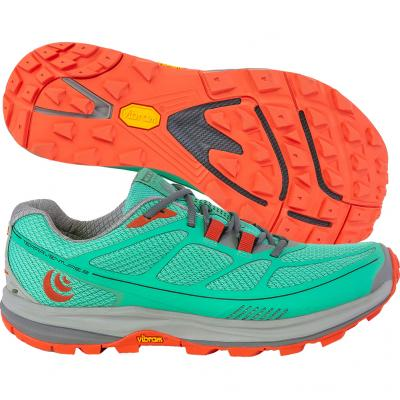 Topo Athletic - Terraventure 2, Damen - mint/mandarine