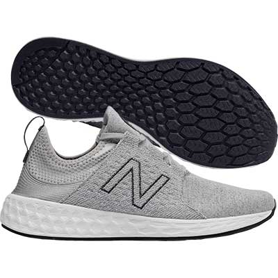 New Balance - Fresh Foam Cruz Retro, Damen - grau