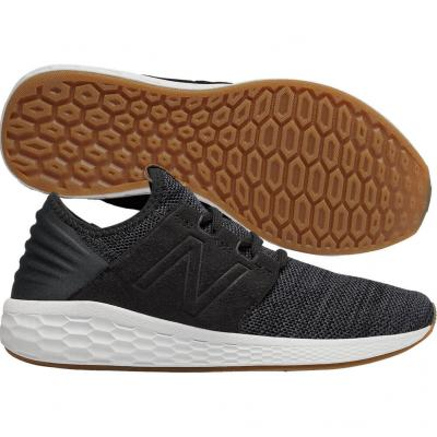 New Balance - Fresh Foam Cruz V2, Damen - schwarz/grau