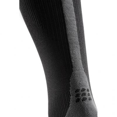 Detail von den CEP Run Socks 3.0 in Farbe black/dark grey