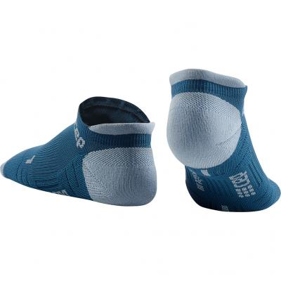 Detail von den CEP No Show Socks 3.0 Damen in blue/grey