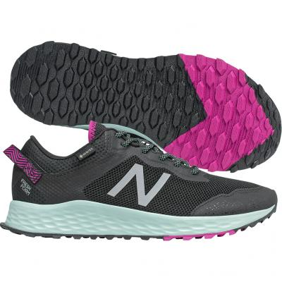 New Balance - Fresh Foam Arishi GTX, Damen - grau/grün/pink