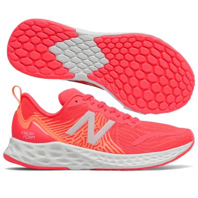 New Balance - Fresh Foam Tempo V1, Damen - rosa/orange/weiß